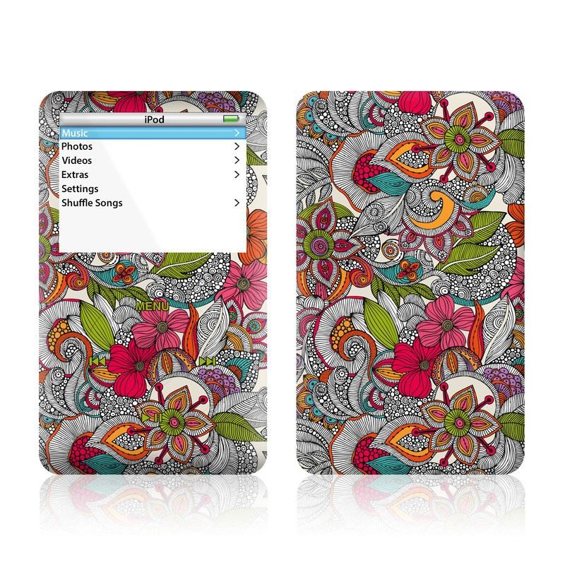 Doodles Color iPod Video Skin