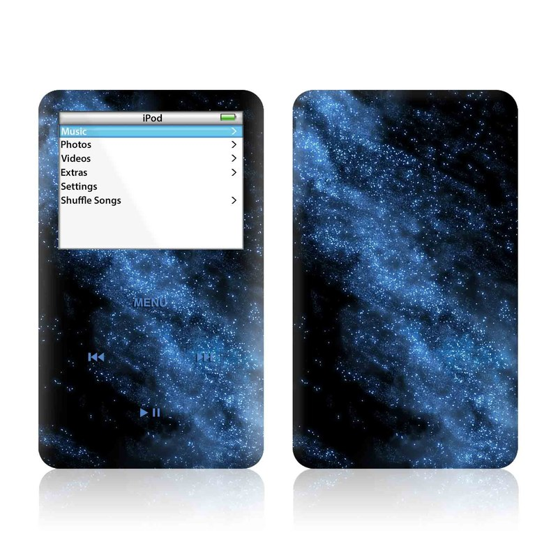 Milky Way iPod Video Skin