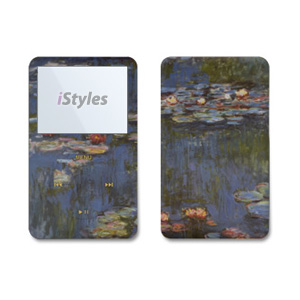 Monet - Waterlilies iPod Video Skin