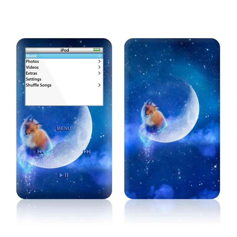 Moon Fox iPod Video Skin