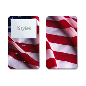 Patriotic iPod Video Skin