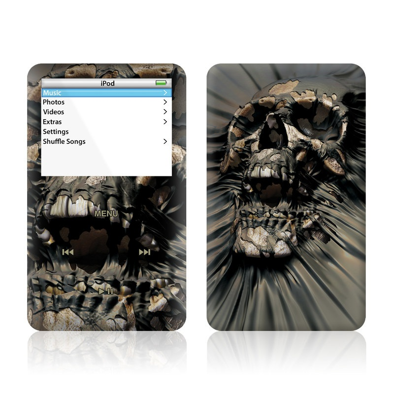 Skull Wrap iPod Video Skin