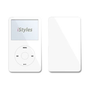 Solid State White iPod Video Skin
