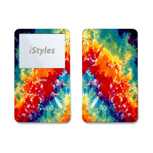 Tie Dye iPod Video Skin