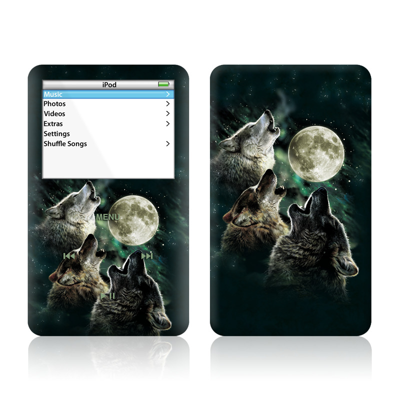 Three Wolf Moon iPod Video Skin