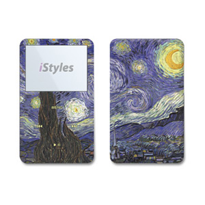 Van Gogh - Starry Night iPod Video Skin