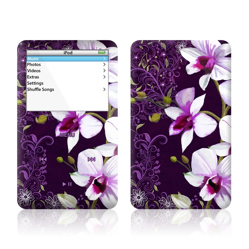 Violet Worlds iPod Video Skin