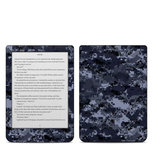 Digital Navy Camo Kobo Clara HD Skin