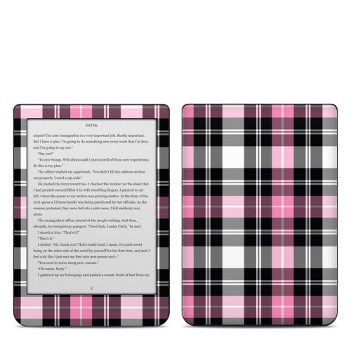 Pink Plaid Kobo Clara HD Skin