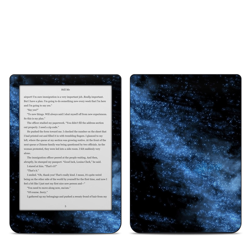 Kobo Clara HD Skin design of Sky, Atmosphere, Black, Blue, Outer space, Atmospheric phenomenon, Astronomical object, Darkness, Universe, Space with black, blue colors