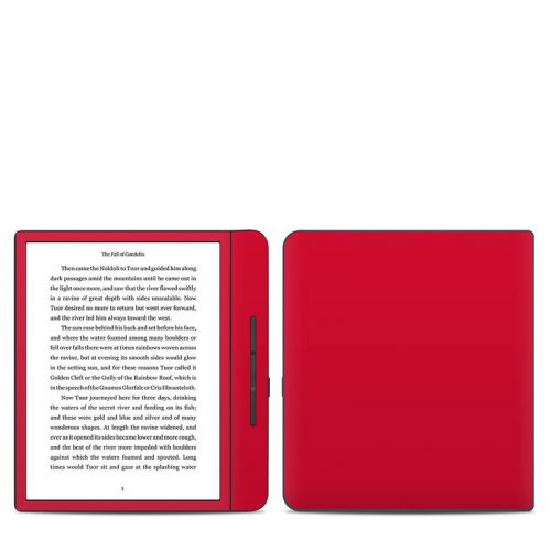 Solid State Red Kobo Forma Skin
