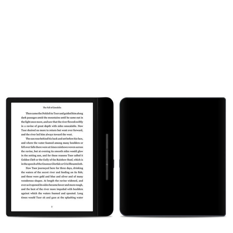 Kobo Forma Skin design of Black, Darkness, White, Sky, Light, Red, Text, Brown, Font, Atmosphere with black colors