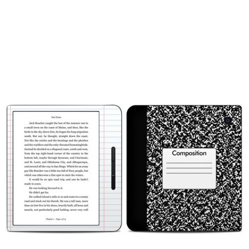Composition Notebook Kobo Libra H20 Skin