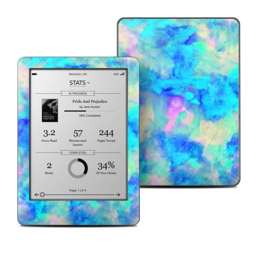 Electrify Ice Blue Kobo Glo Skin
