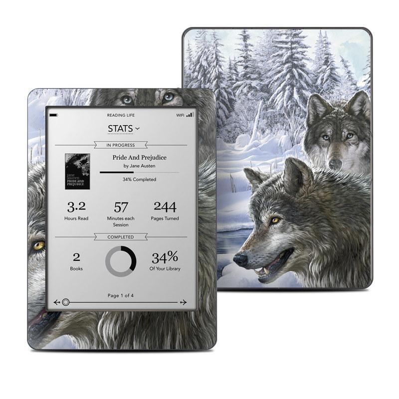 Snow Wolves Kobo Glo Skin