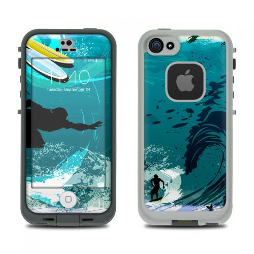 Hit The Waves LifeProof iPhone SE, 5s fre Case Skin