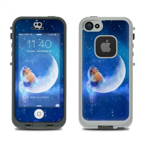 Moon Fox LifeProof iPhone SE, 5s fre Case Skin