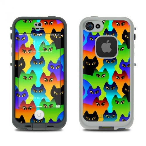 Rainbow Cats LifeProof iPhone SE, 5s fre Skin