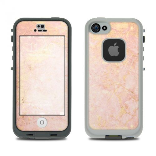 Rose Gold Marble LifeProof iPhone SE, 5s fre Case Skin