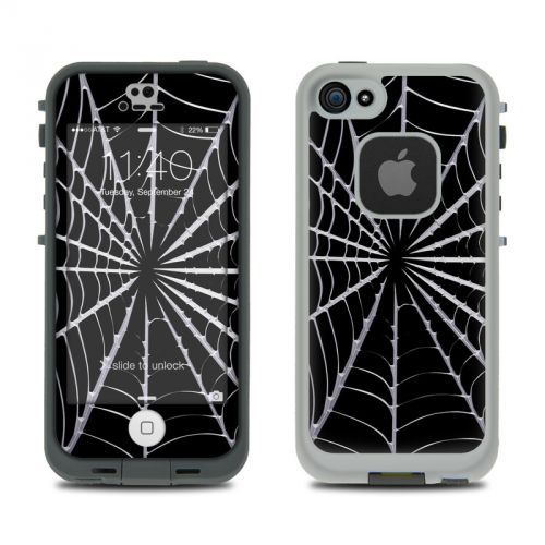 Spiderweb LifeProof iPhone SE, 5s fre Skin