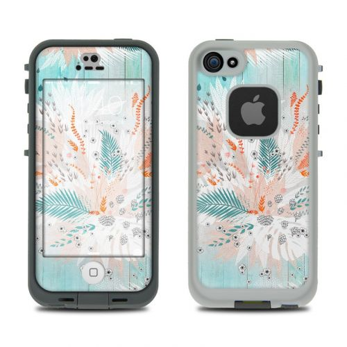 Tropical Fern LifeProof iPhone SE, 5s fre Case Skin