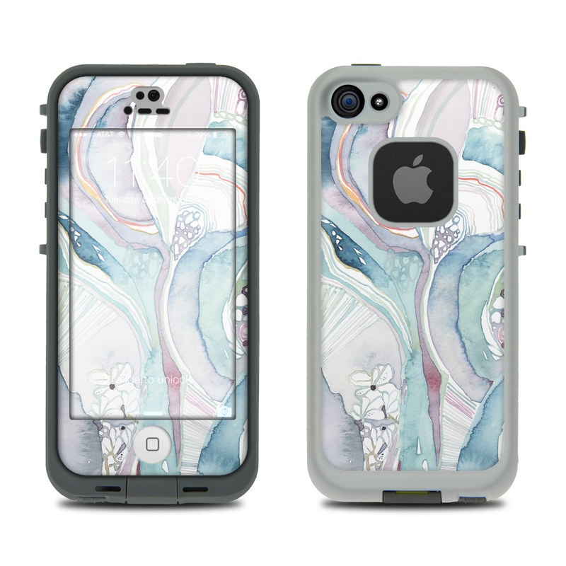 Abstract Organic LifeProof IPhone SE, 5s Fre Case Skin