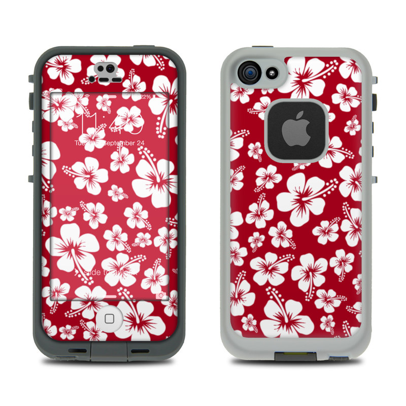 Aloha Red LifeProof iPhone SE, 5s fre Skin