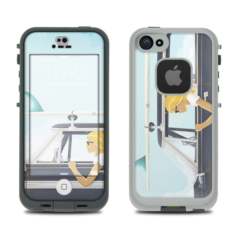 Anticipation LifeProof iPhone SE, 5s fre Case Skin