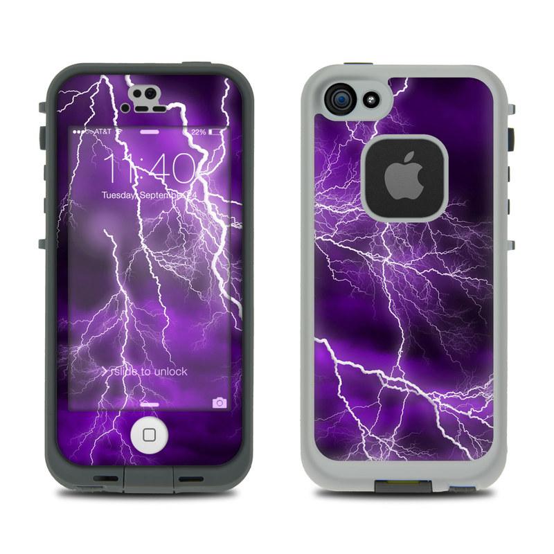 Apocalypse Violet LifeProof iPhone SE, 5s fre Skin