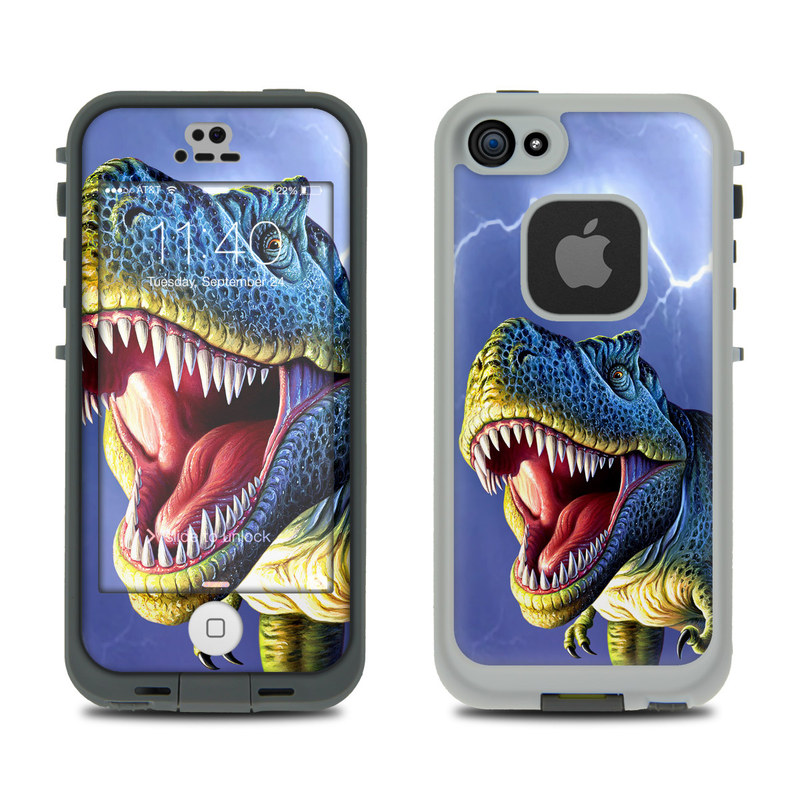Big Rex LifeProof iPhone SE, 5s fre Case Skin