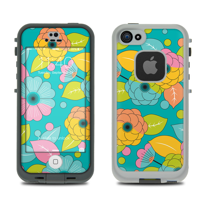 Blossoms LifeProof iPhone SE, 5s fre Case Skin