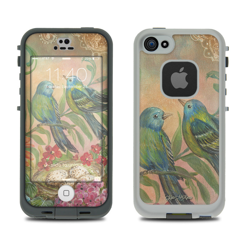 Splendid Botanical LifeProof iPhone SE, 5s fre Case Skin
