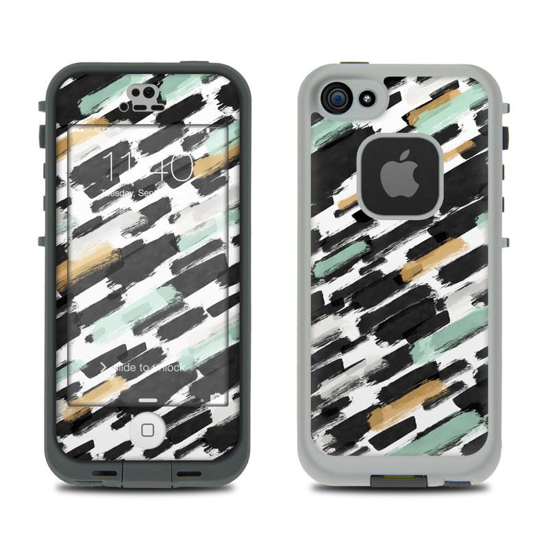 Brushin Up LifeProof iPhone SE, 5s fre Case Skin