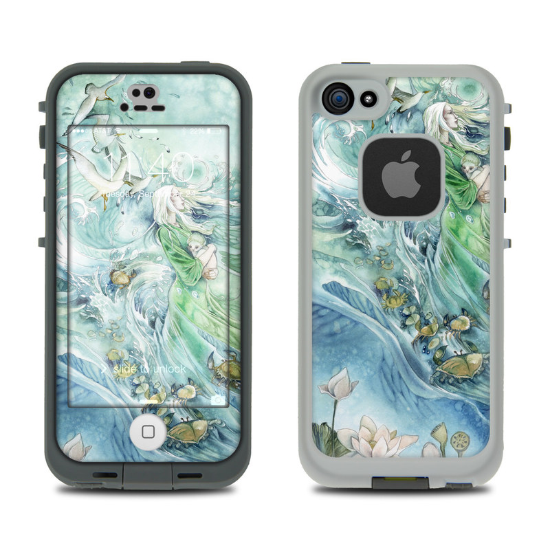 Cancer LifeProof iPhone SE, 5s fre Skin