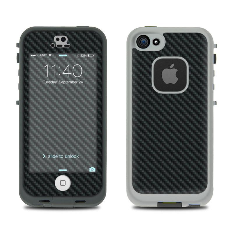 Carbon Fiber LifeProof iPhone SE, 5s fre Skin