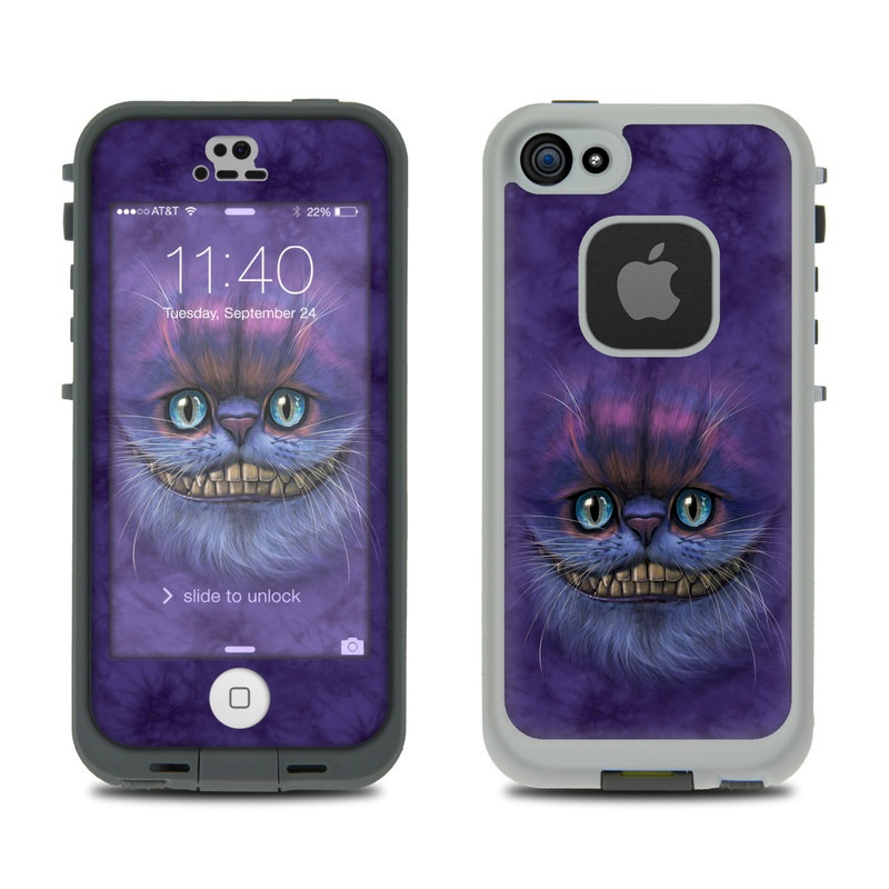 Cheshire Grin LifeProof iPhone SE, 5s fre Case Skin
