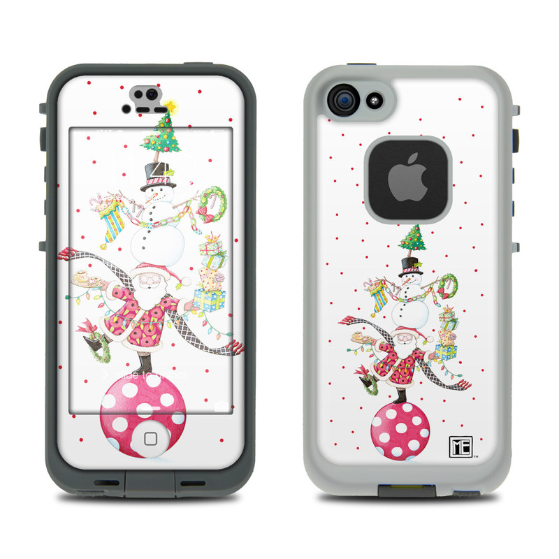 Christmas Circus LifeProof iPhone SE, 5s fre Skin