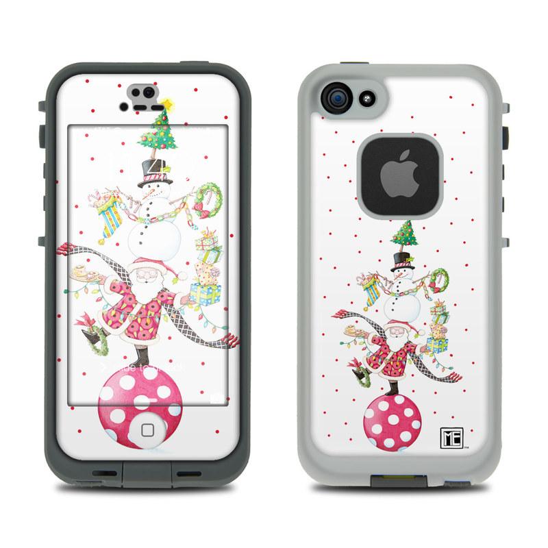 Christmas Circus LifeProof iPhone SE, 5s fre Skin
