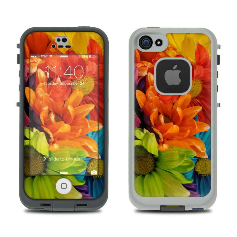 Colours LifeProof iPhone SE, 5s fre Skin