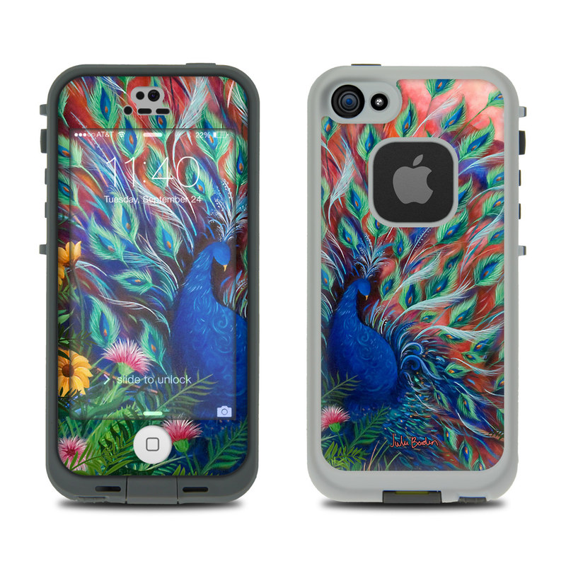 Coral Peacock LifeProof iPhone SE, 5s fre Case Skin