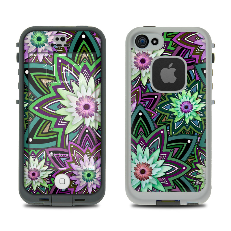 Daisy Trippin LifeProof iPhone SE, 5s fre Case Skin