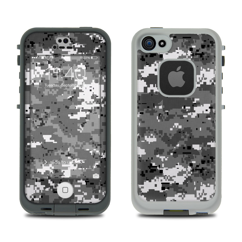 Digital Urban Camo LifeProof iPhone SE, 5s fre Skin