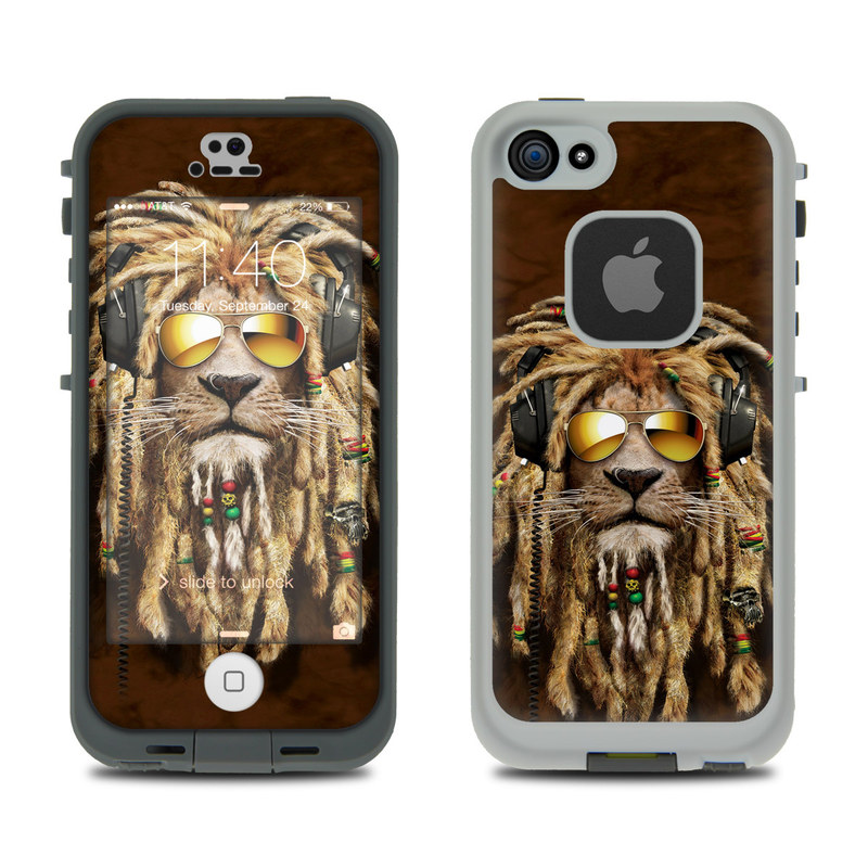 DJ Jahman LifeProof iPhone SE, 5s fre Case Skin