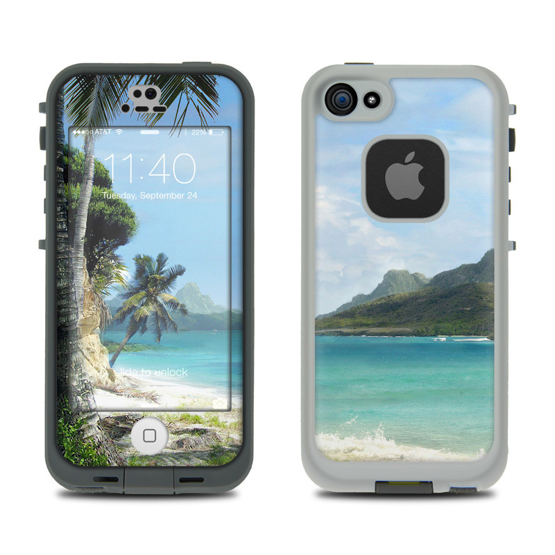 El Paradiso LifeProof iPhone SE, 5s fre Skin