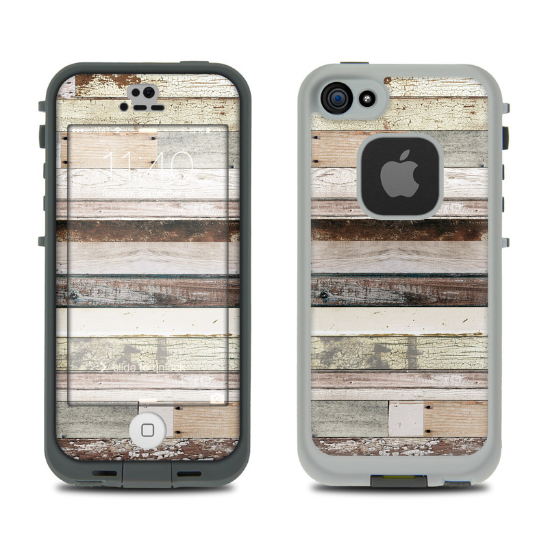 Eclectic Wood LifeProof iPhone SE, 5s fre Case Skin