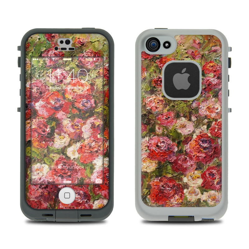 Fleurs Sauvages LifeProof iPhone SE, 5s fre Skin