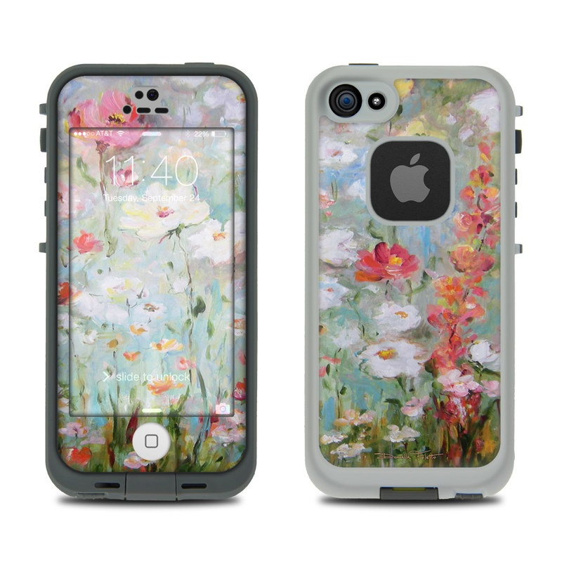Flower Blooms LifeProof iPhone SE, 5s fre Skin