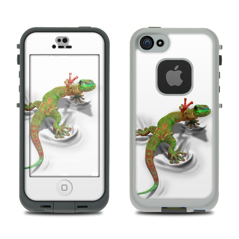 Gecko LifeProof iPhone SE, 5s fre Case Skin