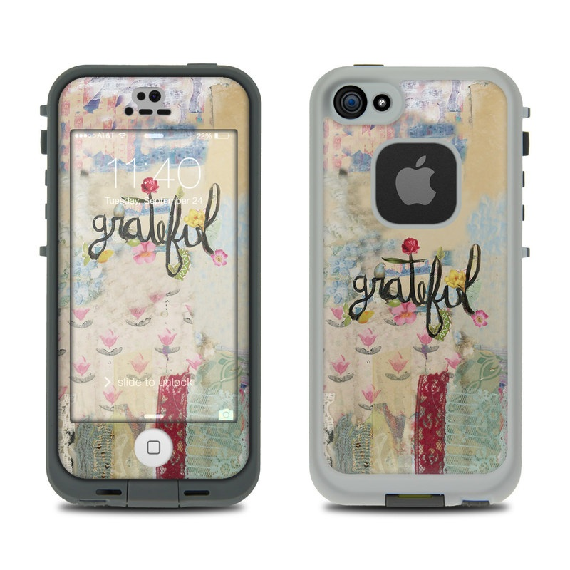 Grateful LifeProof iPhone SE, 5s fre Case Skin