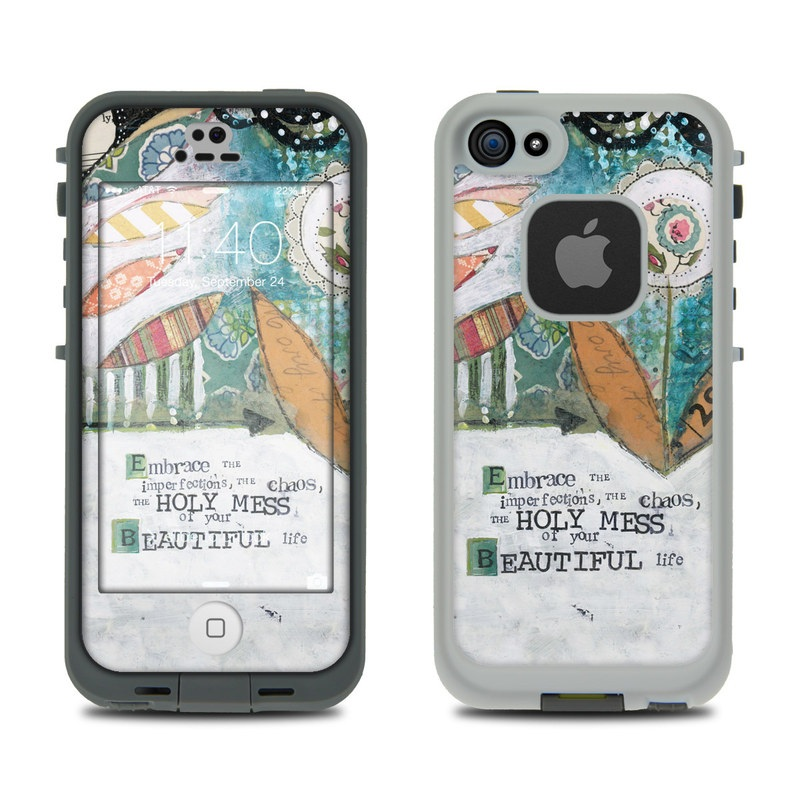 Holy Mess LifeProof iPhone SE, 5s fre Skin